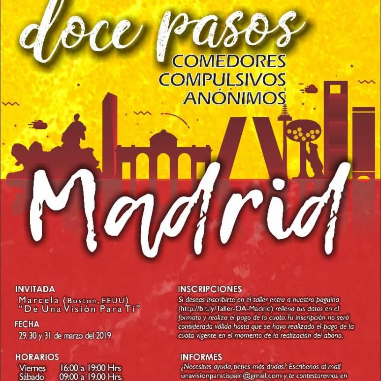 Taller de los 12 pasos en Madrid :: 29 a 31 de marzo de 2019 ...