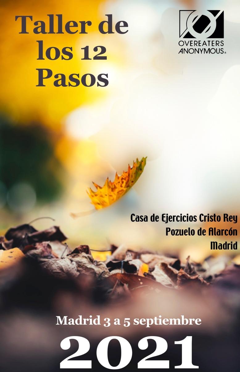Taller de los 12 pasos en Madrid :: 3 al 5 de septiembre de ...